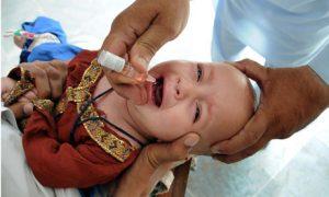 Polio vaccination in Pakistan