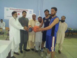 peace basket ball khyber