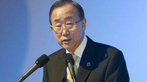 Ban Ki Moon Gaza