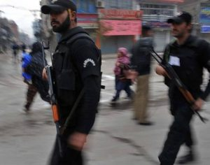 commandos police for operation in KP