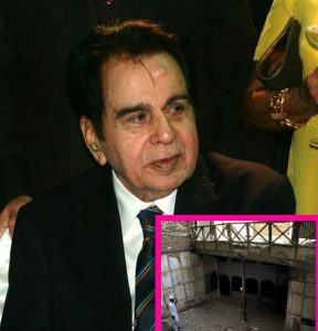 The house of Dilip Kumar in Peshawar is in shabby condition now.