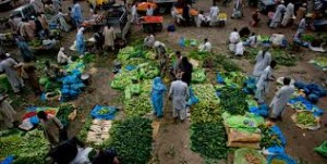 vegetable market, kohat story
