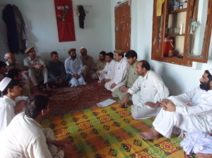 A gathering of Progressive Writers Union in Bannu. -  Photo by Gohar Wazir