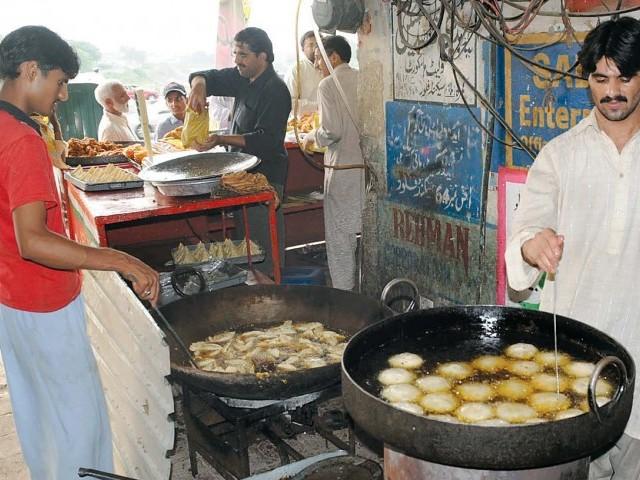 Hangu market fine