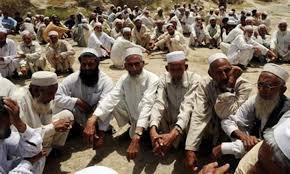 Jirga peace volunteers lakhkar