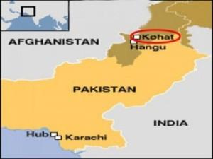 Kohat-Map