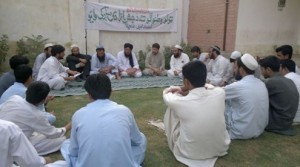 A view of the poets' gathering in Mohmand Agency. - Photo by Gul Muhammad