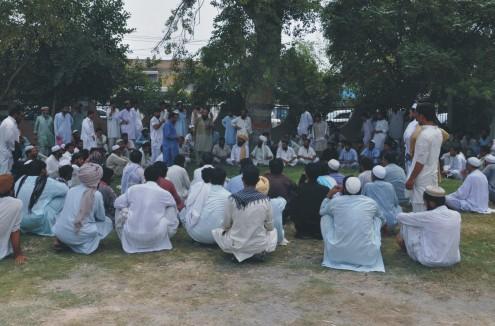 NWA IDPs jirga pic by Jamshed Khan
