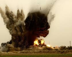 bomb explosion in DI Khan