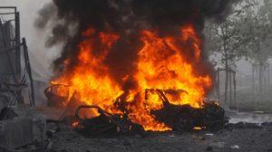 Car bomb adtermath, Beirut