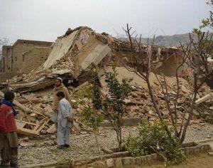 suspected-militant home demolished