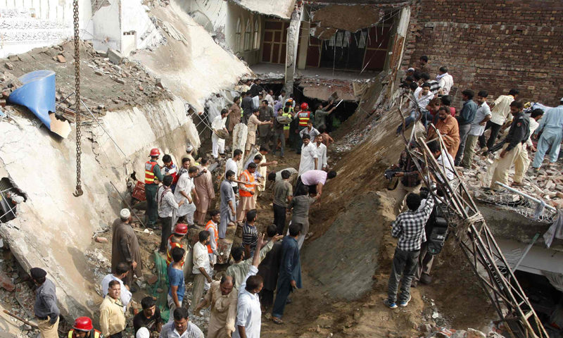 Lahore Roof Collapse