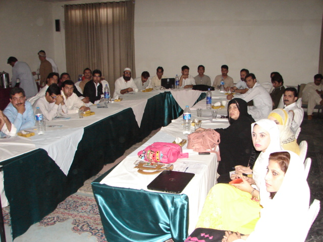Participants of the workshop in Swat district. Photo by Rafiullah