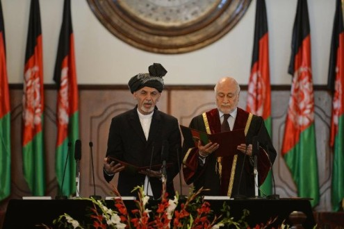afp-ghani-takes-oath-as-new-afghan-president-495x330