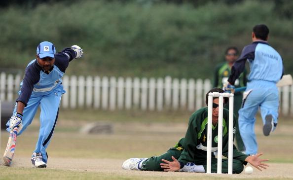 Visually impaired Indian cricketer Sekha