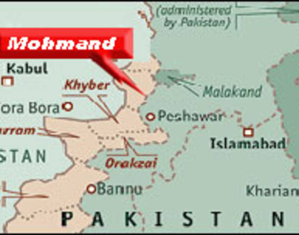 mohmand agency rocket attack