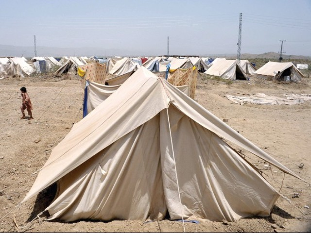IDPs cold weather