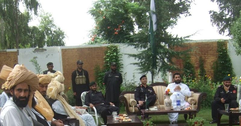Wana jirga story pic by Hamza Khan