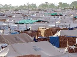 federal govt IDPs camps