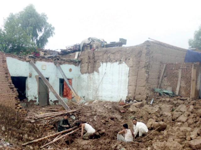 rains story kurram